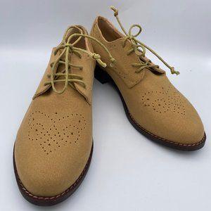 FSJ Oxfords Lace Up Heels Brogues Chunky Heels